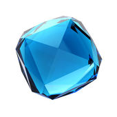 Blue gemstone — Stock Photo