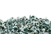 Group of screws — Stock Photo