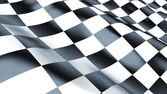 Racing Flag — Foto Stock