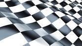 Bandeira de corrida — Fotografia Stock