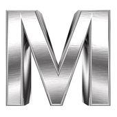 Metal font — Stock Photo