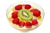 Fruit Trifle — Stock Photo