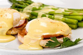 Eggs Benedict — Stock Photo