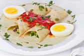 Papadzules — Stock Photo