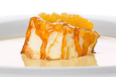Floating Island Dessert — Stock Photo