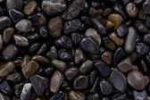 Dark Pebbles — Stock Photo