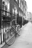 Bicycle in a London Street — Stock Photo