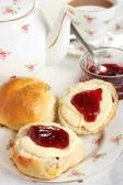 Devon Cream Tea — Stock Photo