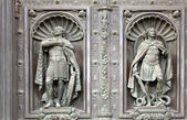 Alexander Nevsky and the Archangel Michael — Stock Photo