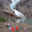 Stock Photo: Briksdalsbreen
