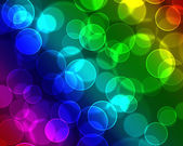 Colorful bubbles background — Stock Photo