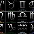 Stock Photo: Zodiac signs