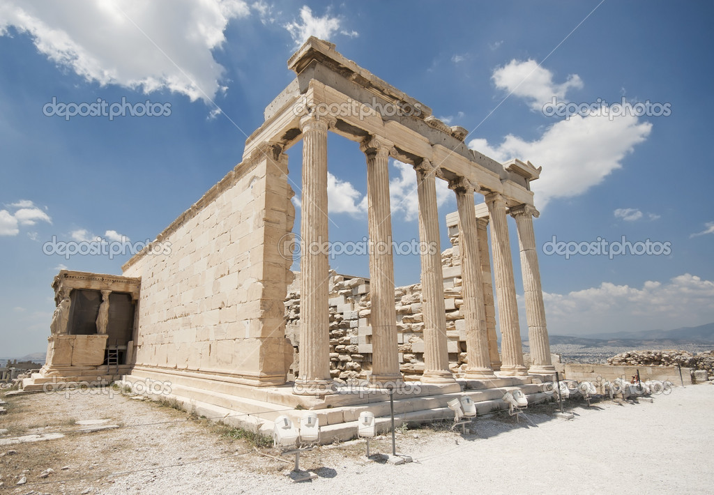 The Old Temple of Athe...