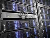 Computer servers — Foto Stock