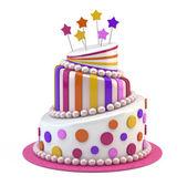 Wielkie święto ciasto — Zdjęcie stockowe