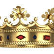 Stock Photo: Golden royal crown