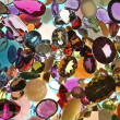 Gemstone assortment — Stock Photo