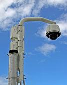 Câmara de vídeo de segurança — Foto Stock