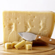 italian cheese - grana padano — Stock Photo