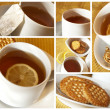 Tea collage — Stock Photo #10651217