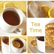Tea collage — Stock Photo #10651251