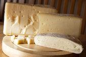 Choice of italian cheese — Stock Photo