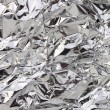 Aluminum foil — Stock Photo