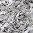 Stock Photo: Aluminum foil