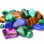 Semi-precious stones — Stock Photo