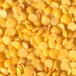Yellow lentils - Stock Photo