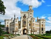Castle Hluboka — Stock Photo