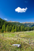 Scenic view of austrian alps — Stock Photo
