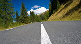 Road in the alps — Stock Photo