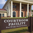 Fort Bragg, NC Courtroom Facility — Stock Photo
