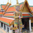 Guardian Daemon, Royal Palace, Bangkok, Thailand — Stock Photo #10613778