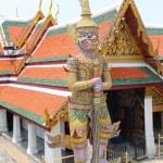 Guardian Daemon, Royal Palace, Bangkok, Thailand — Stock Photo