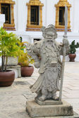 Statue of ancient deity in the Grand Palace, Bangkok, Thailand — Stock Photo
