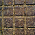 A cobblestone texture — Stock Photo