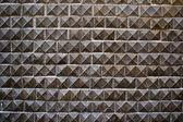 Grauer beton zaun teil, hintergrund — Stockfoto