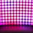 Violet Dance Disco Lights Stage Background — Stock Photo