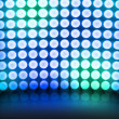 Blue Dance Disco Lights Stage Background — Stock Photo #10595290