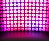 Violet Dance Disco Lights Stage Background — Stock Photo