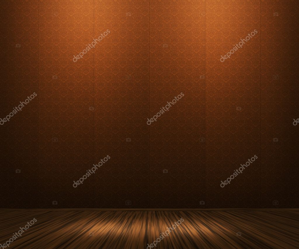 Orange Vintage Room Background — Stock Photo #10708126