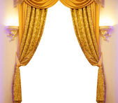 Luxury curtain — Stock Photo