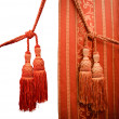 Red oriental curtain - Photo