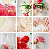 Wedding accessories — Stock Photo
