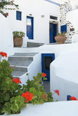 Greek house — Foto de Stock