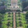 Haifa and the Bahai garden — Stock Photo #10565027