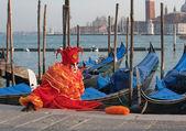 Clown van Venetië — Stockfoto