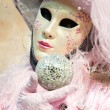 Stock Photo: Festival of masks in Venice